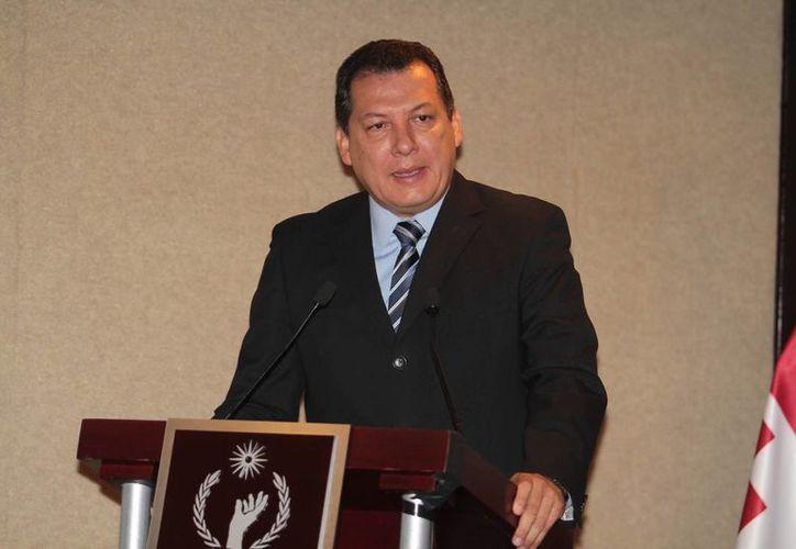 El actual titular de la Comisión Nacional de los Derechos Humanos, Raúl Plascencia Villanueva, no ha acudido al Senado de la República para registrarse y buscar la reelección al frente de este organismo. (Archivo/Notimex)