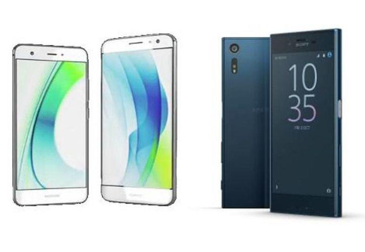El Huawei Nova y el Sony XperiaZ fueron presentados en la IFA. (Milenio)
