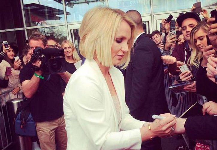 Britney Spears tendrá un día en su honor: será el 5 de noviembre, en Las Vegas. La imagen es de contexto y corresponde a la visita de la cantante a Alemania, el 25 de septiembre pasado. (Twitter: @britneyspears)