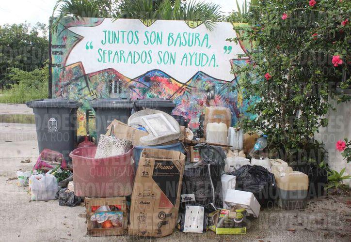 Dan prioridad a la recolección de basura en la zona turística. (Redacción)