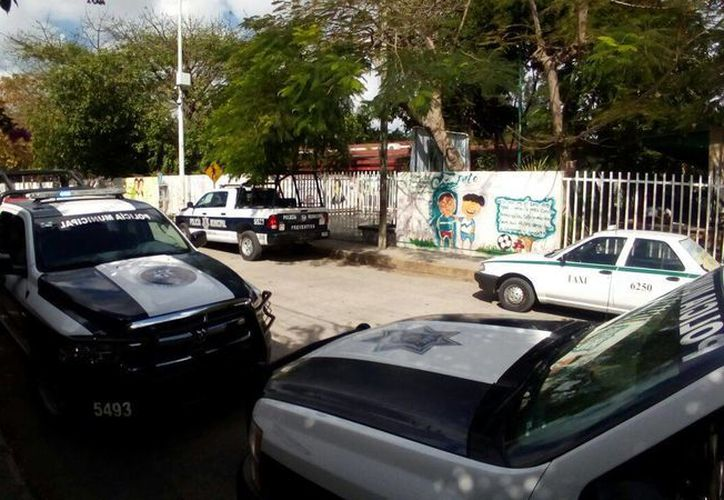 Profesores de una secundaria de Cancún denunciaron que uno de sus estudiantes presentaba signos de violencia familiar. (Eric Galindo/SIPSE)
