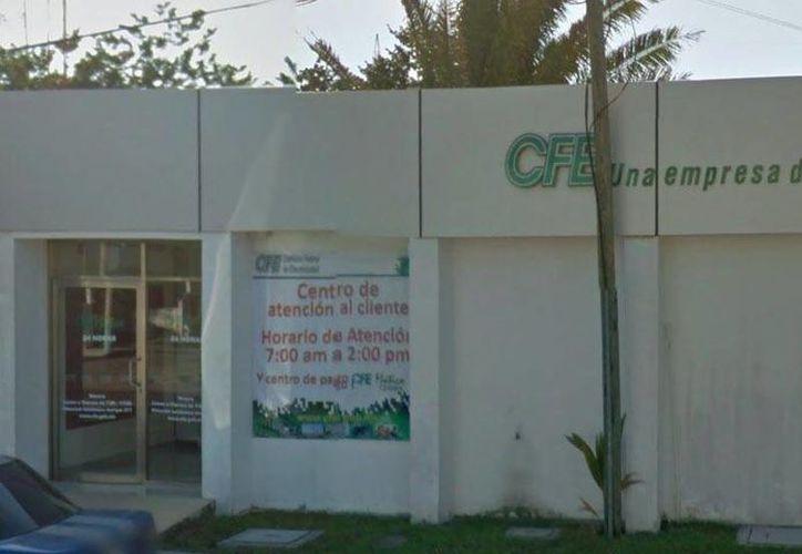 El proyecto de mantenimiento a la infraestructura registra un avance del 80%. CFE destinó más de cinco millones de pesos. (Harold Alcocer/SIPSE)
