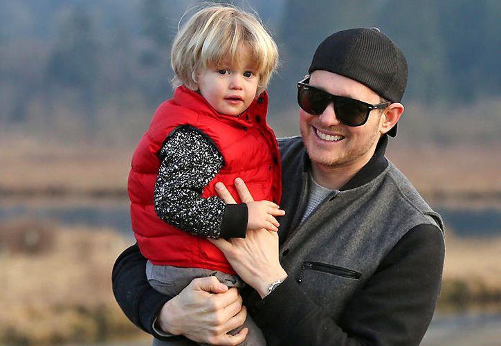 Fue hace siete meses cuando Michael mismo reveló que a su hijo de 3 años se le había detectado cáncer.  (Hola)