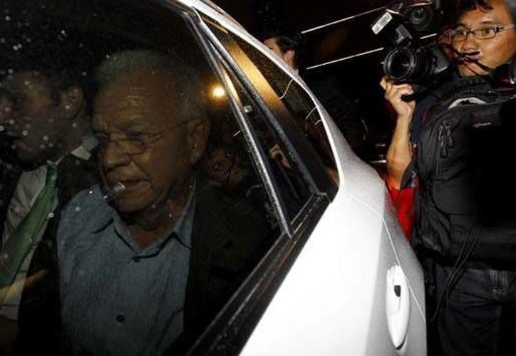 El exgobernador de Tabasco, Andrés Granier, a su llegada a la Ciudad de México, el pasado 11 de junio. (mexico.cnn.com)