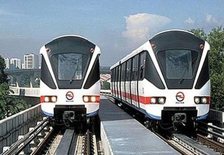 El servicio se prestará con trenes eléctricos que operarán a una velocidad máxima de 160 kilómetros por hora y el recorrido completo se realizará en 39 minutos, en viaje sencillo. (Milenio)