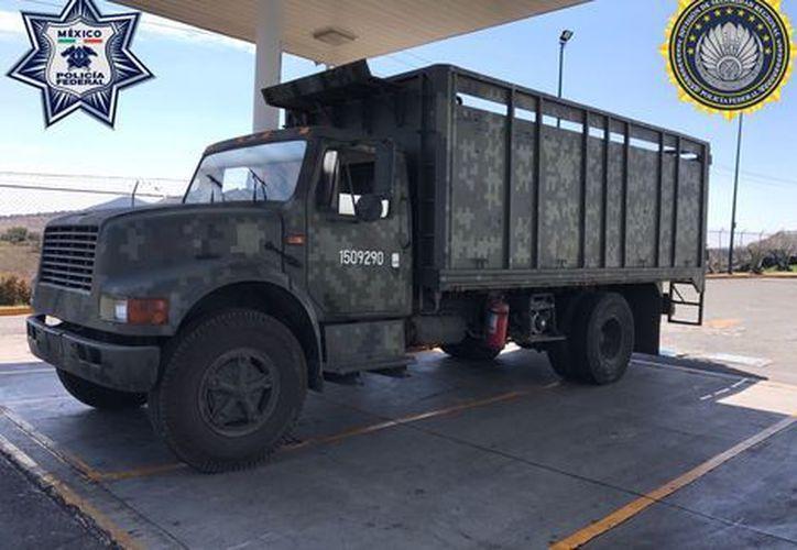 El vehículo era utilizado para robar gasolina. (Milenio).