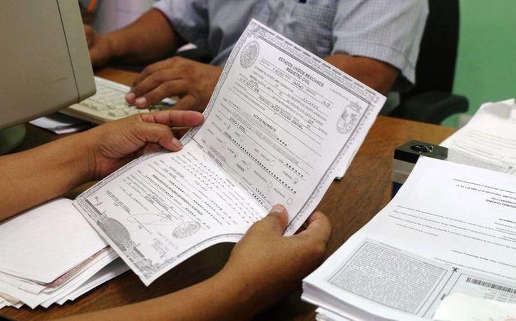 Oficinas del registro civil del estado podr n expedir for Oficina registro