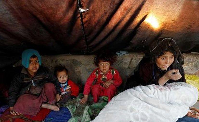 Muchas familias se ven obligadas a  vender a uno de sus hijos para no matar a todos los demás de hambre. (Excélsior)