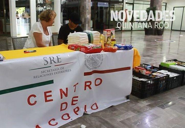 Este centro de acopio se ubica en la avenida Nader en el edificio de Plaza Centro. (Sergio Orozco/ SIPSE)