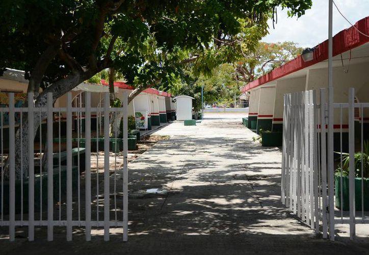 Las escuelas están en condiciones de recibir a los estudiantes. (Luis Soto/SIPSE)