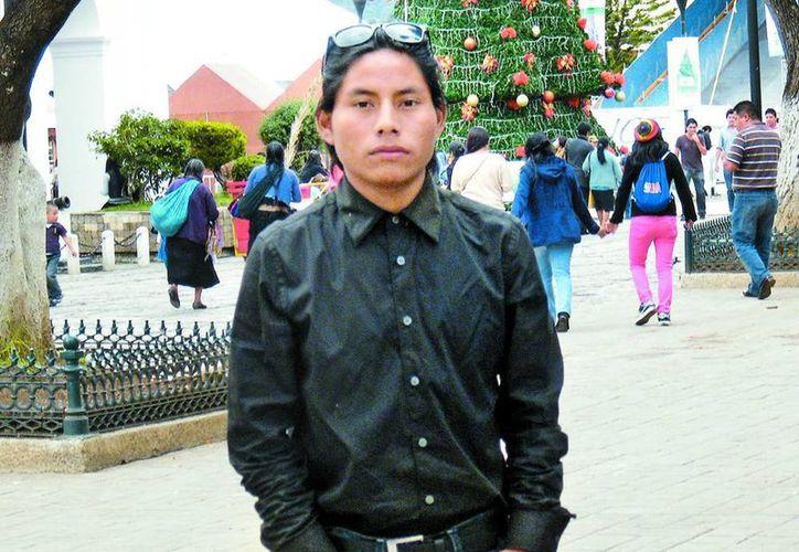 """""""Solo fui a la primaria, no me gusta mucho estudiar, pero sí aprendí a escribir"""", aseveró Rodolfo Domínguez, actor de La Jaula de Oro. (Milenio)"""