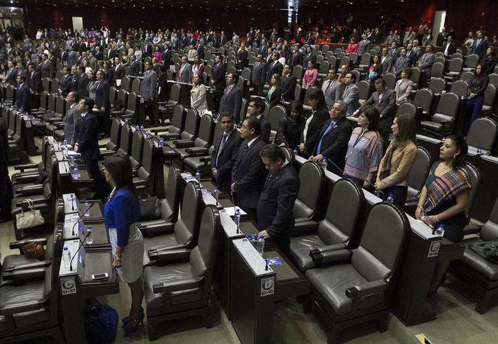 La reforma avalada por las siete fracciones parlamentarias resuelve una contradicción. (Notimex)