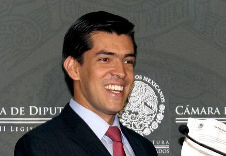 El panista Juan Pablo Adame. (Archivo/Notimex)