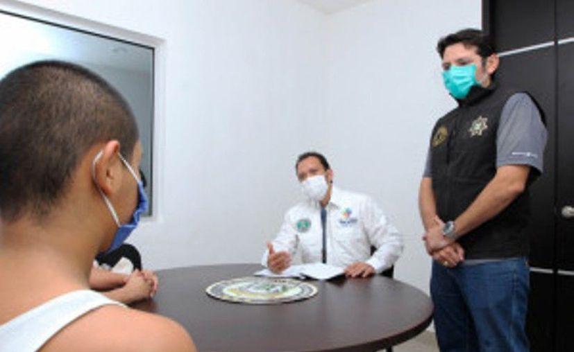 El adolescente ya fue devuelto a sus familiares. (Novedades Yucatán)