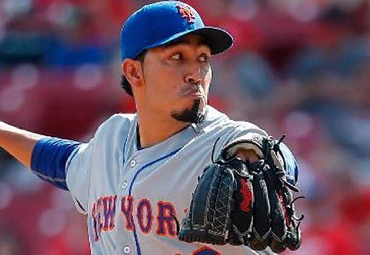 Fernando Salas firma por un año con el equipo Mets de Nueva York de Grandes Ligas. (AP)