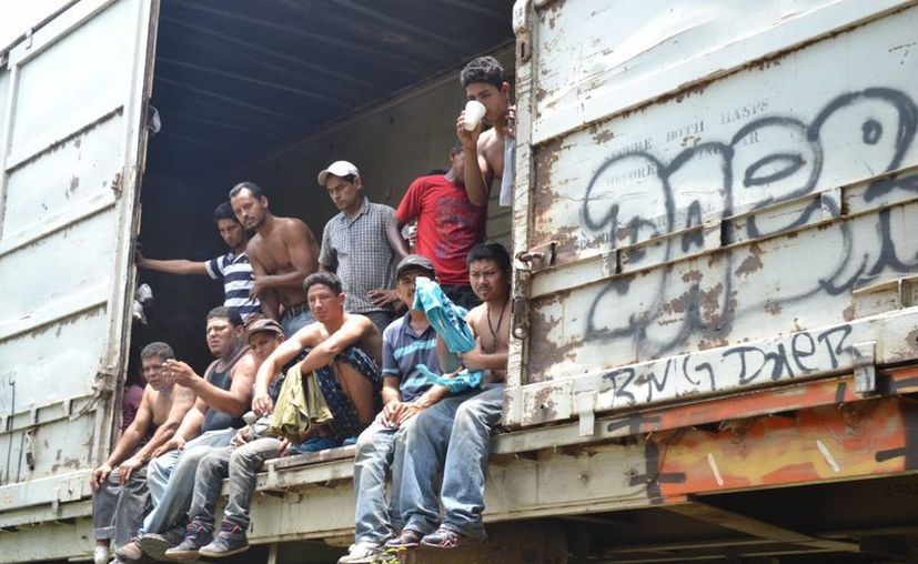 El asalto fatal contra migrantes que iban a bordo de La Bestia se produjo en el tramo Reforma de Pineda y Las Palmas, Oaxaca.(proceso.com.mx/Foto de contexto)