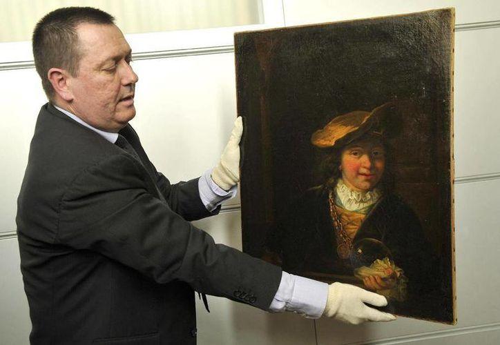 La pintura valuada en 5 millones de dólares fue recuperada en Niza y dos personas fueron arrestadas.(Agencias)