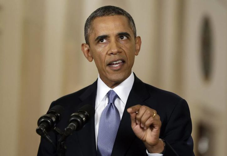 Obama ve en los esfuerzos diplomáticos un potencial de eliminar las armas químicas. (Agencias)