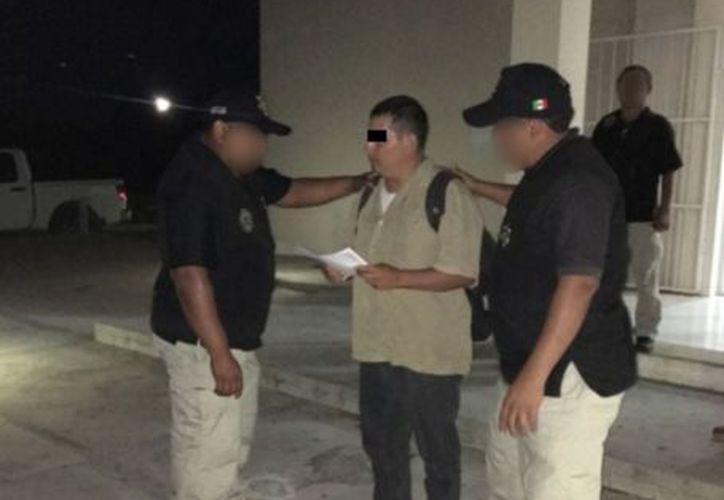 La Secretaría de Seguridad Pública (SSP) aprehendió a J.A.P.T. de 35 años de edad, imputado por el asesinato de una mujer en Kanasín. (Milenio Novedades)
