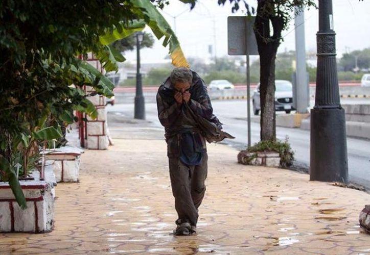 Tres personas han muerto en Nuevo León y una en Tamaulipas por las bajas temperaturas. (Cuartoscuro)