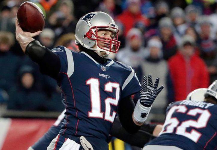 Tom Brady fue el jugador más destacado en el encuentro. (AP)