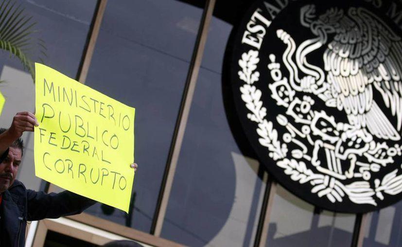 """La entonces procuradora Marisela Morales solo pidió el cese del teniente coronel Avigaí Vargas Tirado """"por deslealtad"""". (Notimex)"""