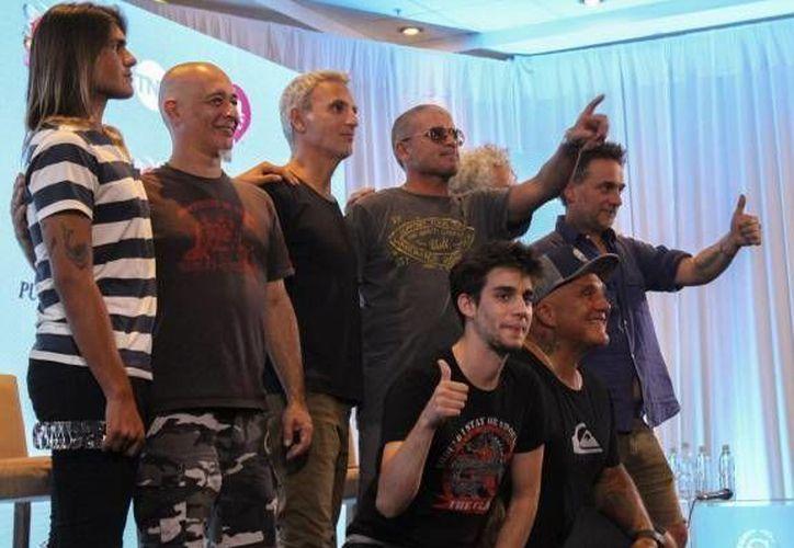 Los Fabulosos Cadillacs presentarán sus éxitos más conocidos en el primer día de actividades del Festival de Viña del Mar, Chile.(Notimex)