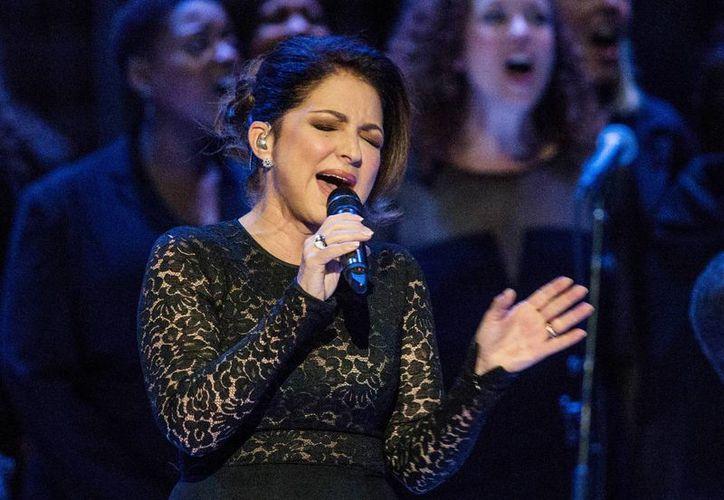 Este viernes por la tarde comenzó un concierto en el Madison Square Garden en honor al Papa Francisco, en la que se presentó Gloria Estefan. (EFE)