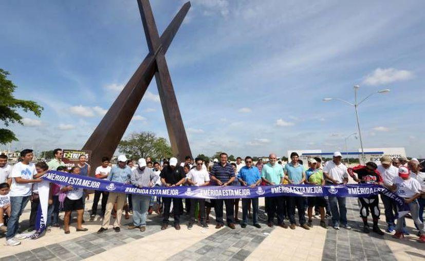 La primera etapa del Parque de Deportes Extremos fue inaugurada en agosto pasado y cuenta con pista de BMX y campo de gotcha. (Archivo SIPSE)
