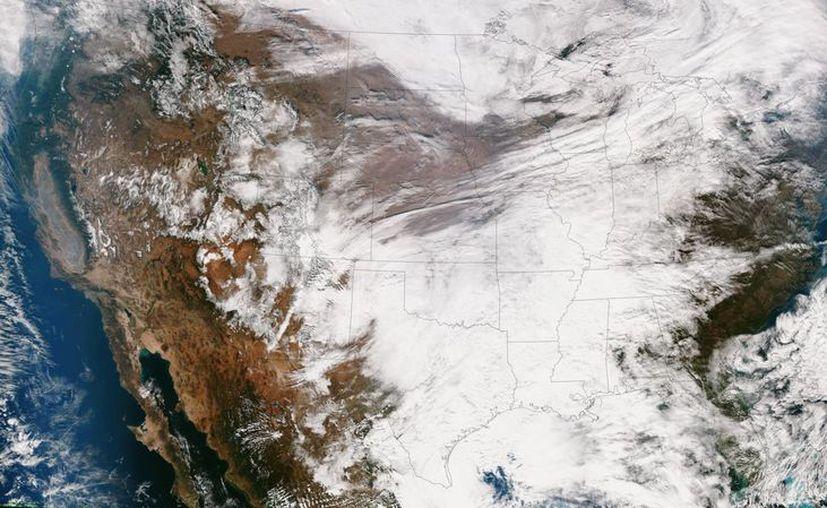 La tormenta invernal impactará desde la Florida hasta Washington D.C. (Notimex)