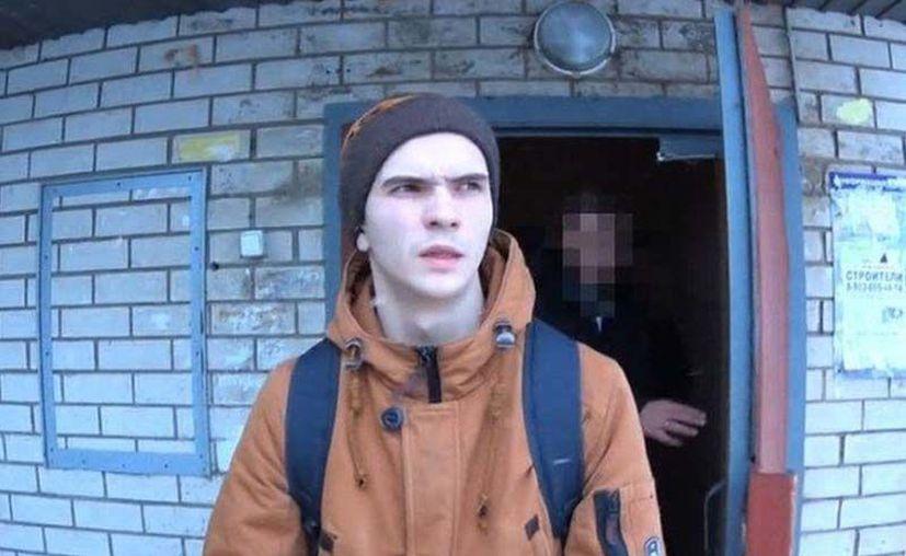 El joven, de 21 años de edad, declaró haber inventado el juego para  'limpiar a la sociedad'. (Excélsior)