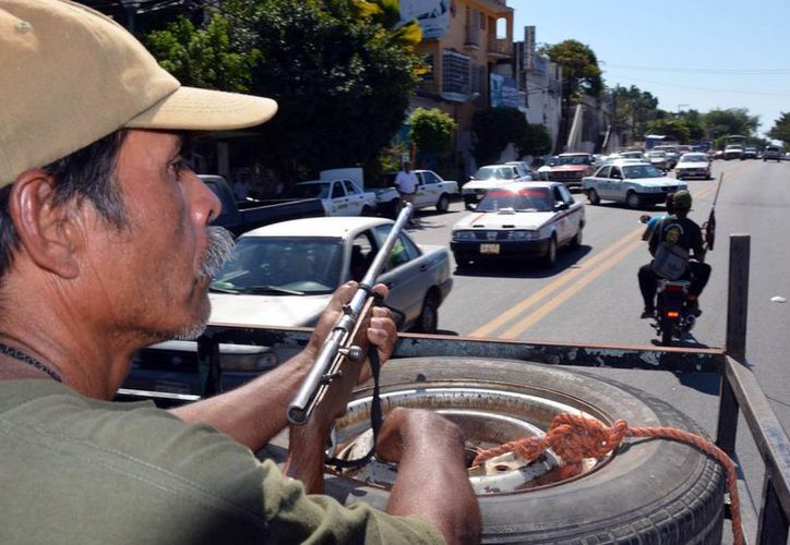 Las autoridades presumen que Servando Gómez, 'La Tuta', se esconde en el municipio de Tumbiscatío, en la zona  serrana de Michoacán. (Archivo/Notimex)