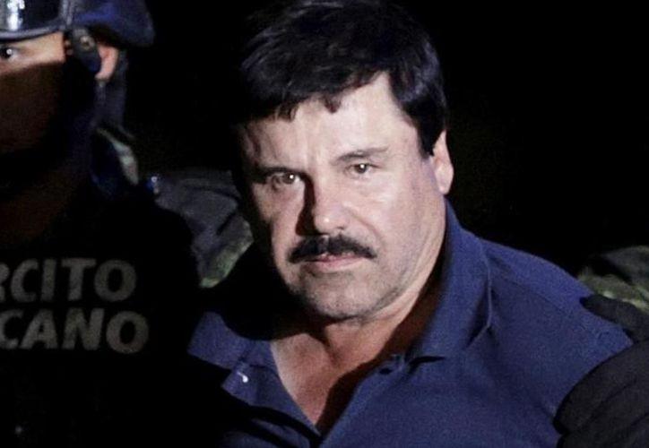 Joaquín 'El Chapo' Guzmán (Foto: Archivo)