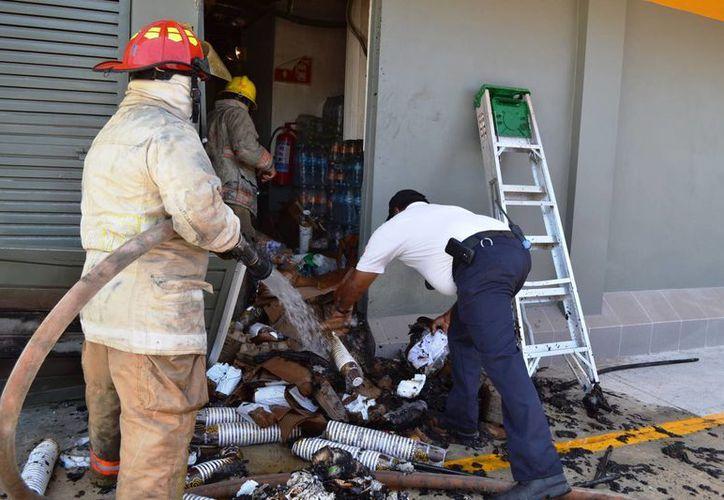 Protección Civil hará revisiones de seguridad en establecimientos que cuenten con palapas para evitar incendios. (Daniel Pacheco/SIPSE)