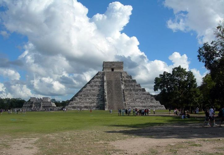 Chichén Itzá es la zona favorita de los visitantes. Turistas resaltan la  calidez que ofrecen los yucatecos durante su permanencia. (Milenio Novedades)