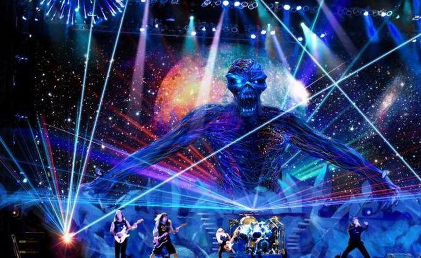 La banda Iron Maiden regresará a dar conciertos en México en marzo de 2016. (slashgear.com)