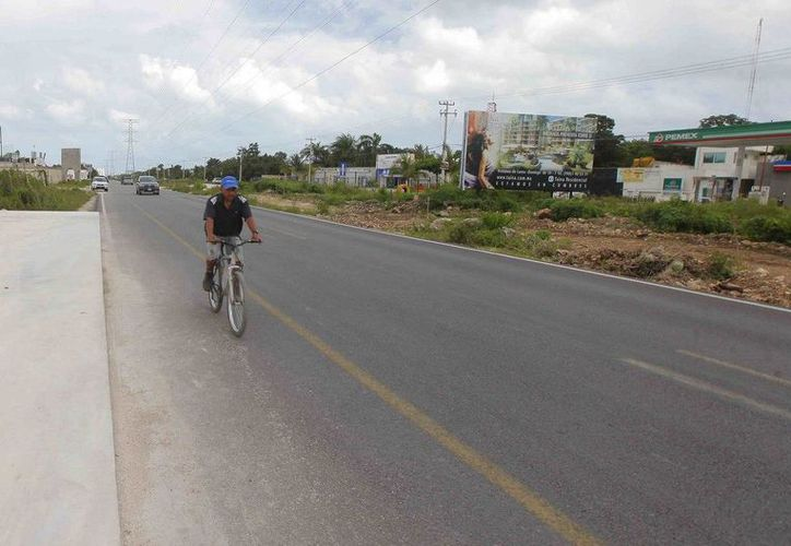 La ciclovía tendrá una longitud de 8.8 kilómetros, además de 2.5 metros de ancho. (Redacción/SIPSE)
