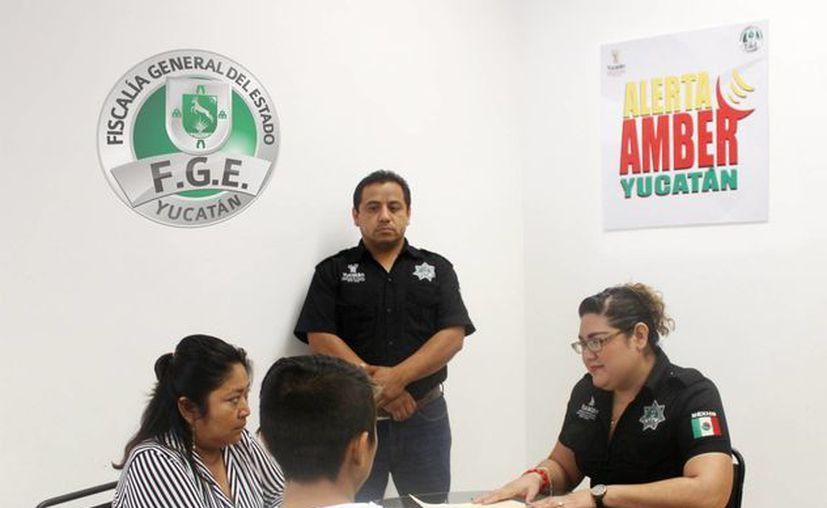 Un menor yucateco de 14 años, reportado como desaparecido, fue hallado en Tabasco. Dijo que escapó de su casa porque su madre no lo entendía. (Foto: cortesía de Fiscalía General de Yucatán)