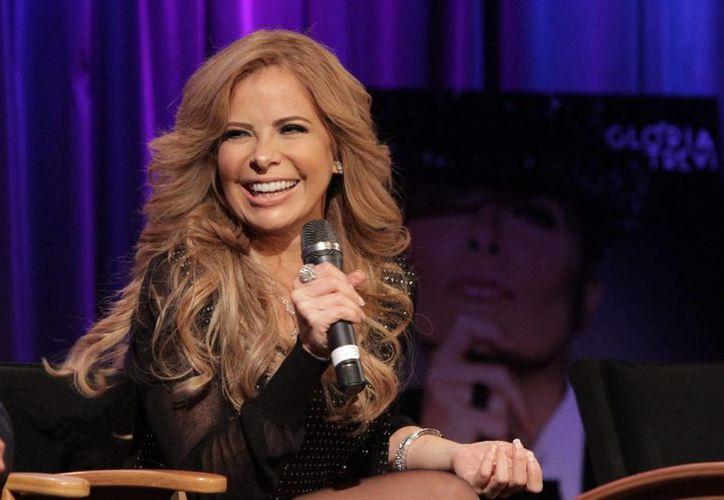 Gloria Trevi promete que su disco 'El Amor' contiene un 'cambio de género'. En él, interpreta los éxitos de sus cantantes favoritos. (Notimex)