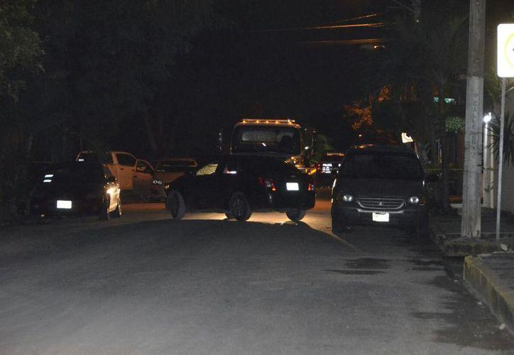 Los detenidos viajaban en un vehículo en calles de la Región 95. (Redacción)
