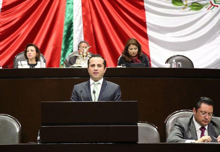 El legislador ecologista José Refugio Sandoval Rodríguez, señaló que su propuesta es fundamental. (Excélsior)