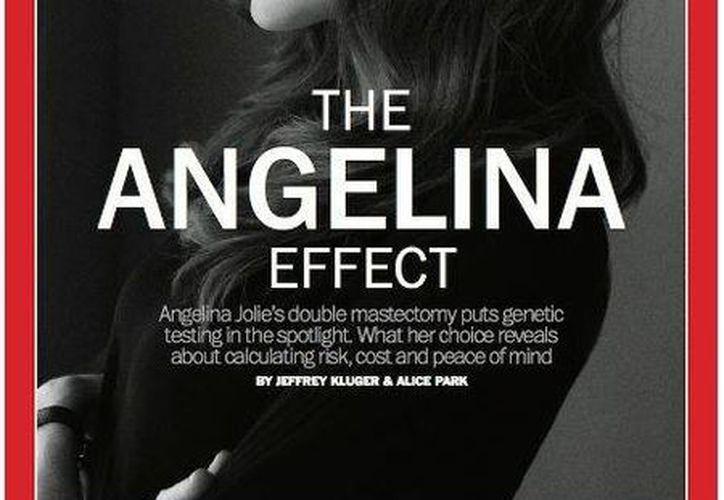 La revista Time considera a Angelina Jolie como una personalidad muy influyente. (Agencias)