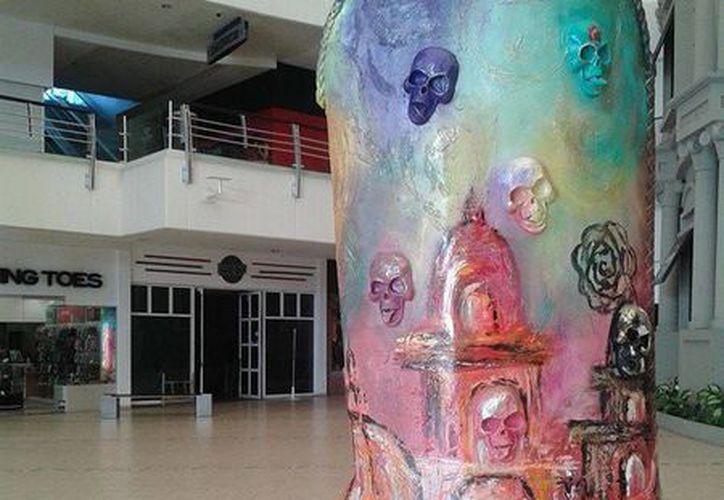 Una micro exposición se presenta en la plaza Forum con motivo del Tianguis Turístico México celebrado en Cancún. (Foto de Contexto/INTERNET)