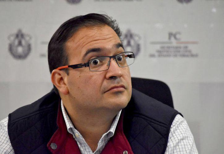 El ex gobernador de Veracruz, Javier Duarte, interrumpió la huelga de hambre que inició el 17 de agosto. (Yerania Rolón/Proceso).