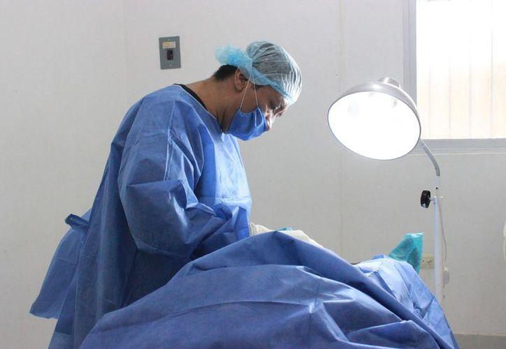 Para realizarse la operación sólo es necesario acudir a los hospitales donde se realiza, bañado, rasurado del área genital y ser mayor de 18 años. (Joel Zamora/SIPSE)