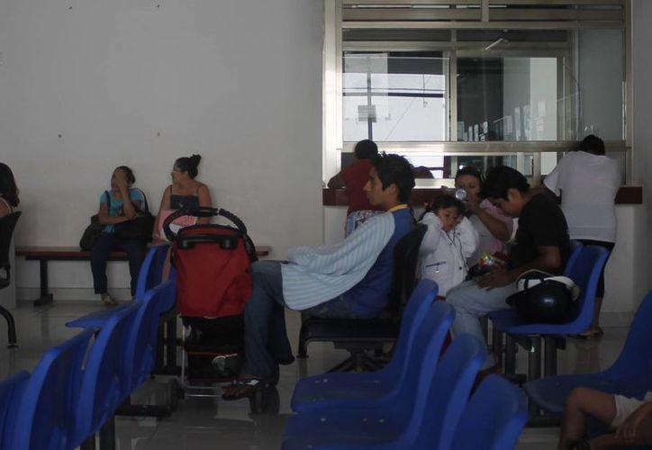 El Hospital Morelos registra una alta incidencia de niños prematuros que requieren cuidados intensivos. (Harold Alcocer/SIPSE)