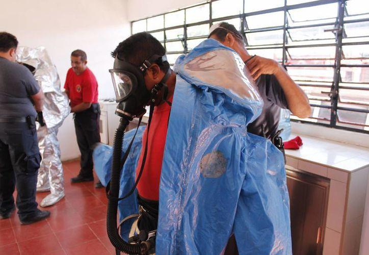 La UNAM y el Politécnico son las únicas instituciones que tienen el equipo en materia de radiación. (Gerardo Amaro/SIPSE)