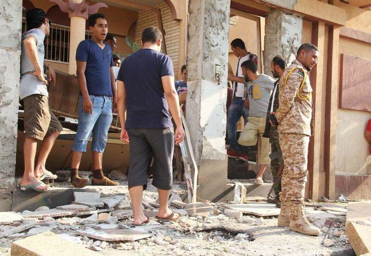 Los atentados contra misiones diplomáticas en Libia, especialmente en Bengasi, se han convertido en algo habitual en el país. (EFE)