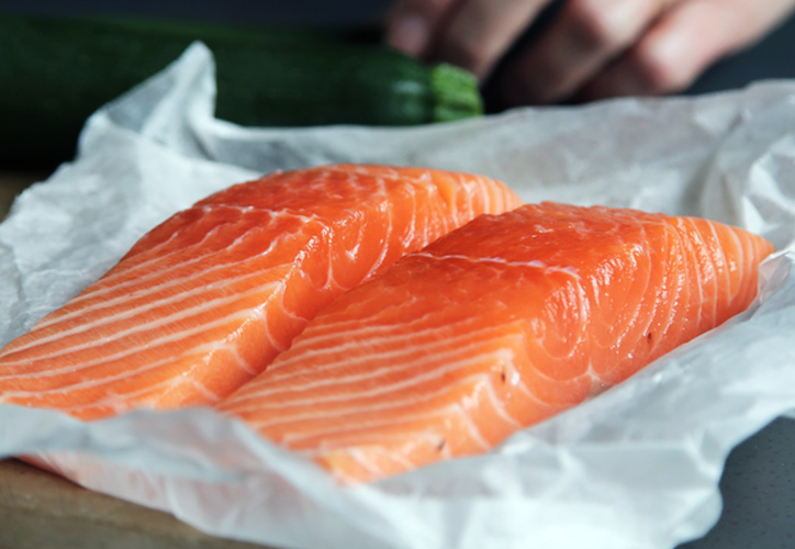 El salmón de criadero tiene un efecto negativo en el desarrollo del cerebro. (Internet)
