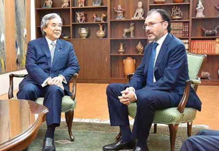 Videgaray comentó que en la renegociación del TLCAN, el gobierno defenderá a socios y aliados. (Excelsior)